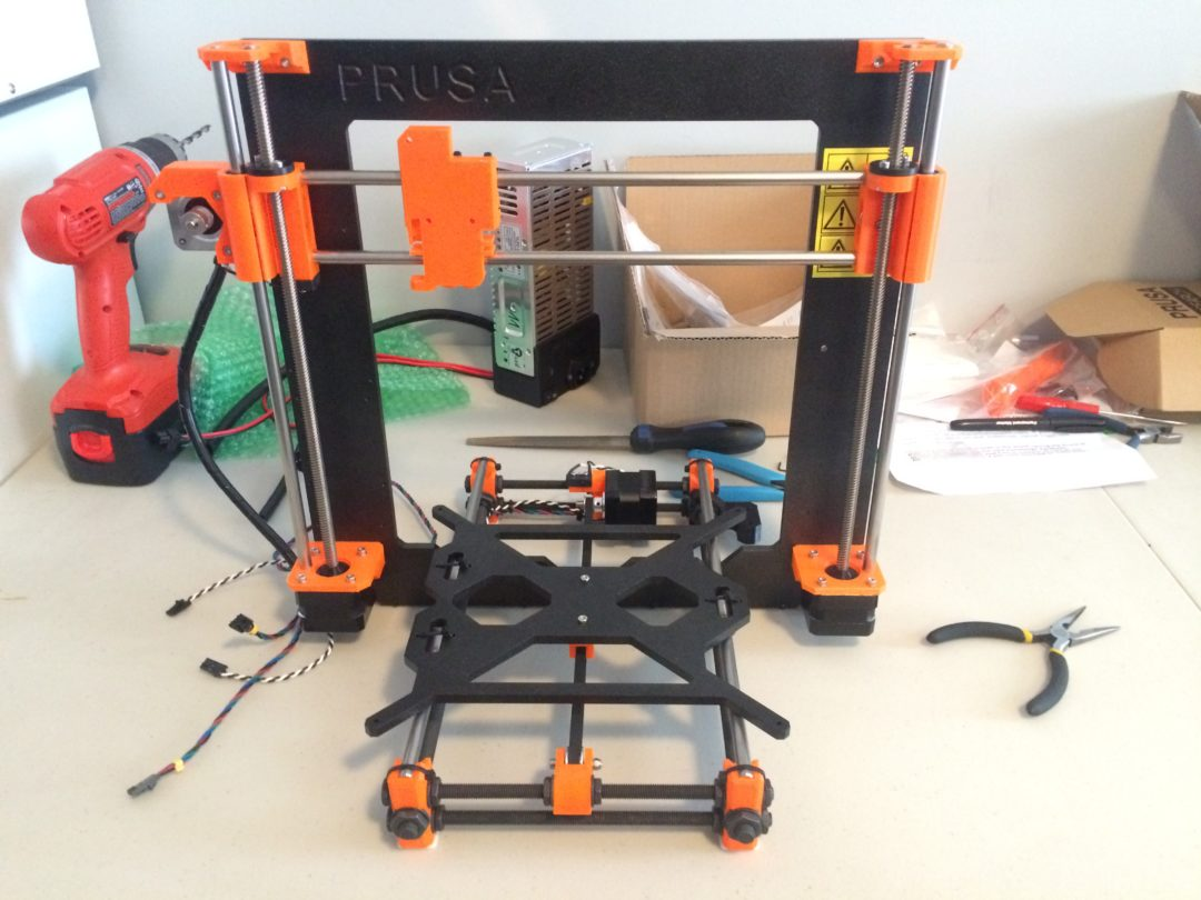 Build of Prusa i3 MK2